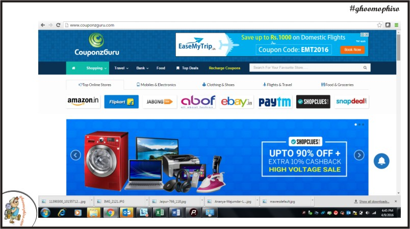 bc1fd4d12976 One stop shop for all online deals and coupons | Ghoomophiro