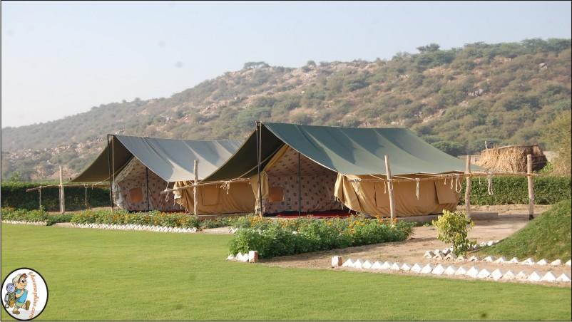 camp tikkling.tents