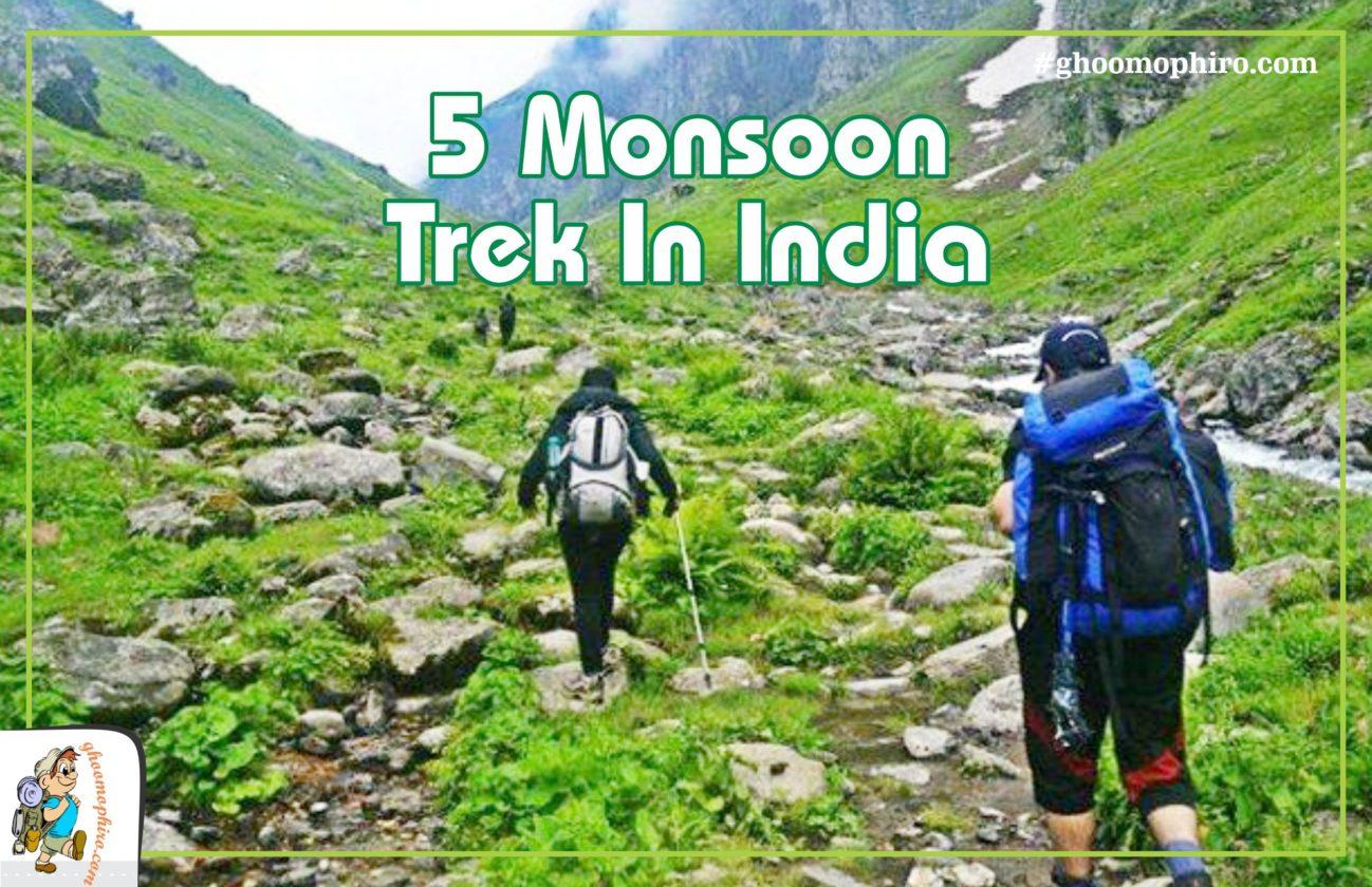 5 amazing monsoon treks in India