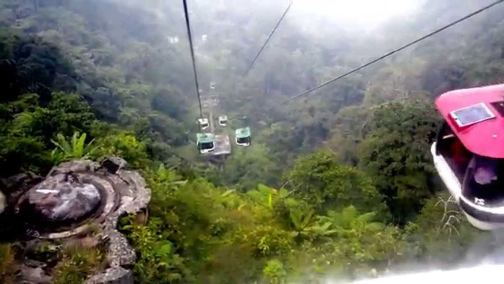 In the clouds at Genting Highland Resort, Malaysia