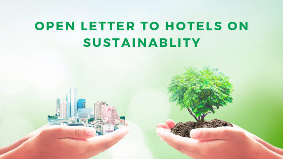 Open letter to hotels to promote eco-tourism